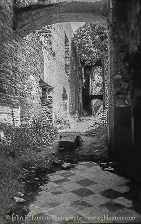 Puxley Mansion - Dunboy Castle - Castletownbere - County Cork - Eire - August 2002