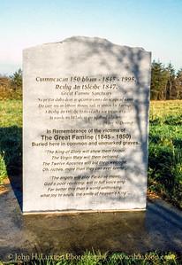 Reilig an tSléibhe Famine Graveyard, Ring, Dungarvan -  November 25, 1998