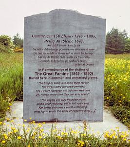 Reilig an tSléibhe Famine Graveyard, Ring, Dungarvan -  May 29, 1998