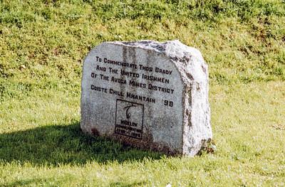 Thomas Brady Memorial, Avoca, County Wicklow, Eire - June04, 1999