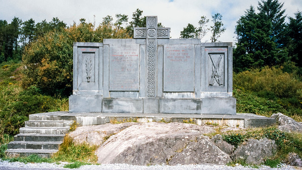 Kilmichael Ambush Site, Kilmichael, County Cork, Eire - July 31, 2001