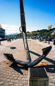 French Naval Anchor, Bantry, County Cork, Eire  - July 31, 2001