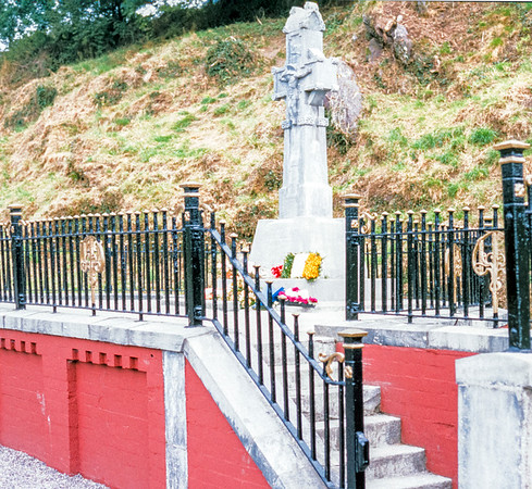 General Michael Collins Memorial, Béal na mBláth, County Cork, Eire -  August 30, 2000