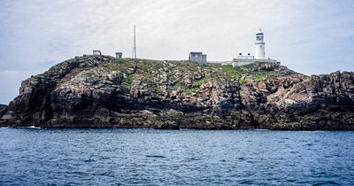 Round Island Lighthouse, Round Island, Isles of Scilly - June 04, 1993