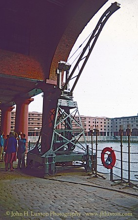Albert Dock - Stothert & Pitt Electric Crane - July 14, 1984