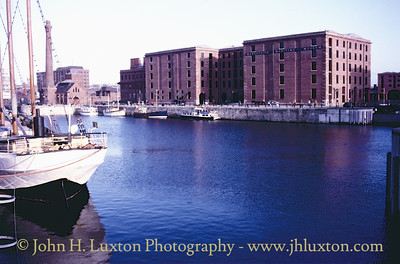 Canning Half Tide Dock, Liverpool. March 22, 1987