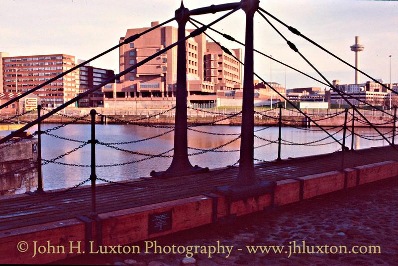 Canning Dock & Rennie Bridge -  January 29, 1989