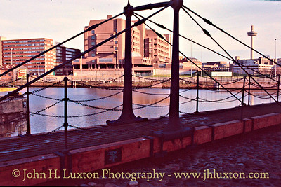 Canning Dock & Rennie Bridge -  January 29, 1989