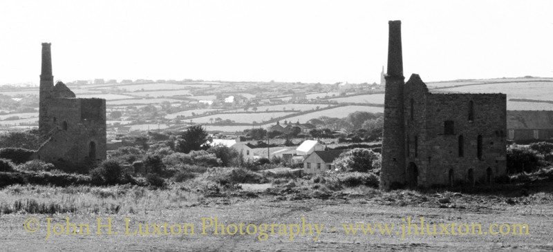 Basset Mines (South Wheal Frances Section), Cornwall - August 08, 1986