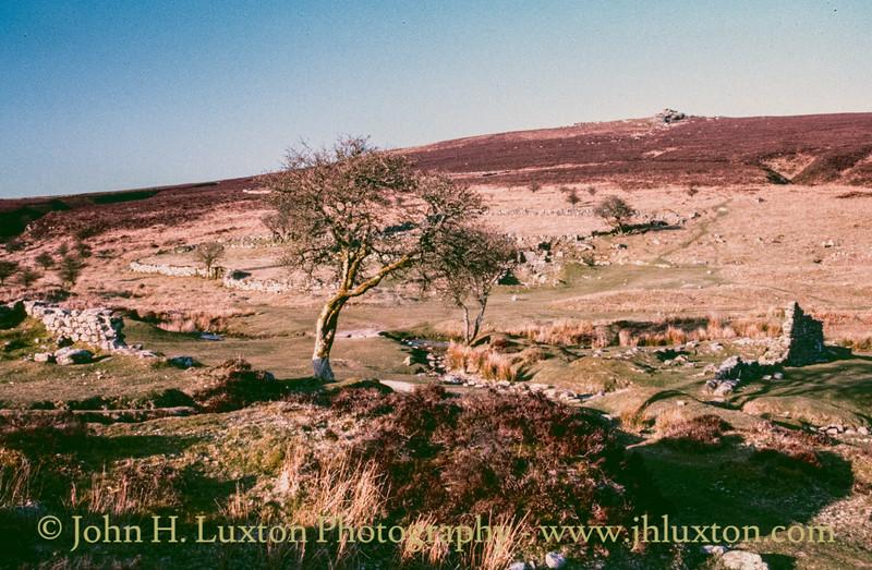 Birch Tor and Vitifer Tin Mine, Dartmoor, Devon - April 07, 1988