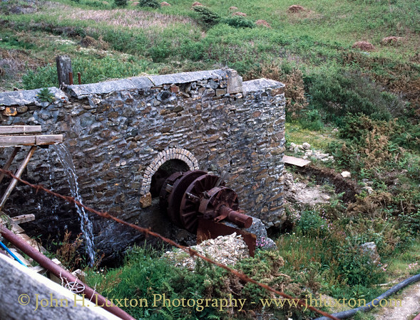Blue Hills Mine, Cornwall - May 30, 1990