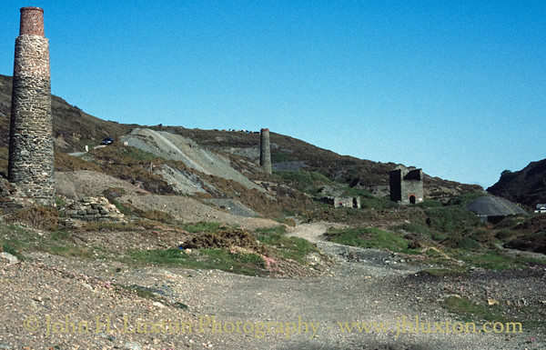 Blue Hills Mine, Cornwall - June 1996