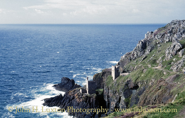 Botallack Mine, Cornwall - August 21, 1988
