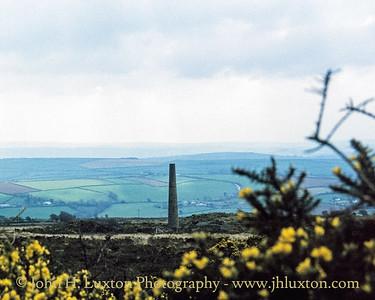 Kit Hill Mine , Cornwall - April 03, 1988