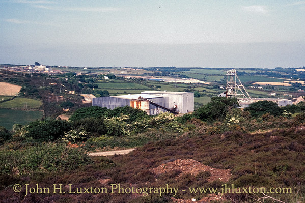 Mount Wellington Mine, Cornwall - May 29, 1989