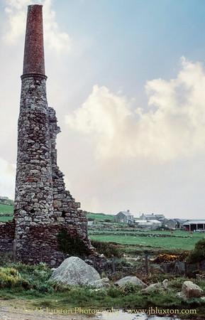 Carn Galver Mine, Cornwall - May 17, 1981