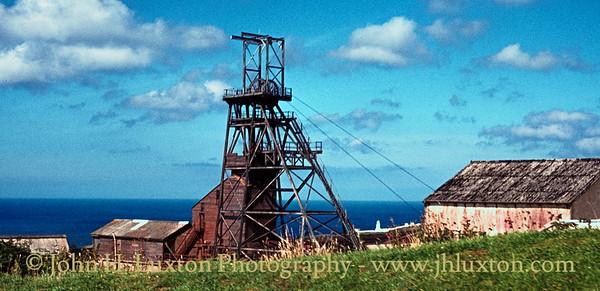 Geevor Mine, Cornwall - August 11, 1978