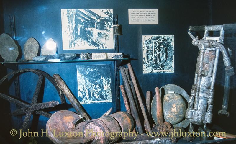 Geevor Mine, Cornwall - May 20, 1985