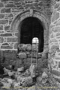 GIEW MINE, Franks Shaft Engine House, Cripplesease, Nancledra, Cornwall - 1994