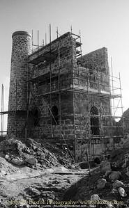 GIEW MINE, Franks Shaft Engine House, Cripplesease, Nancledra, Cornwall - 1994