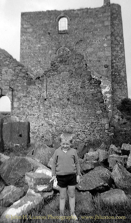 GIEW MINE, Franks Shaft Engine House, Cripplesease, Nancledra, Cornwall - circa 1966