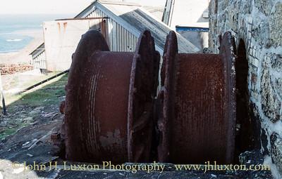 Levant Mine, Cornwall - August 17, 1987