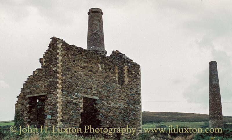 Trevaunance Mine - Royal Polberro Consols, Cornwall - September 12, 1981