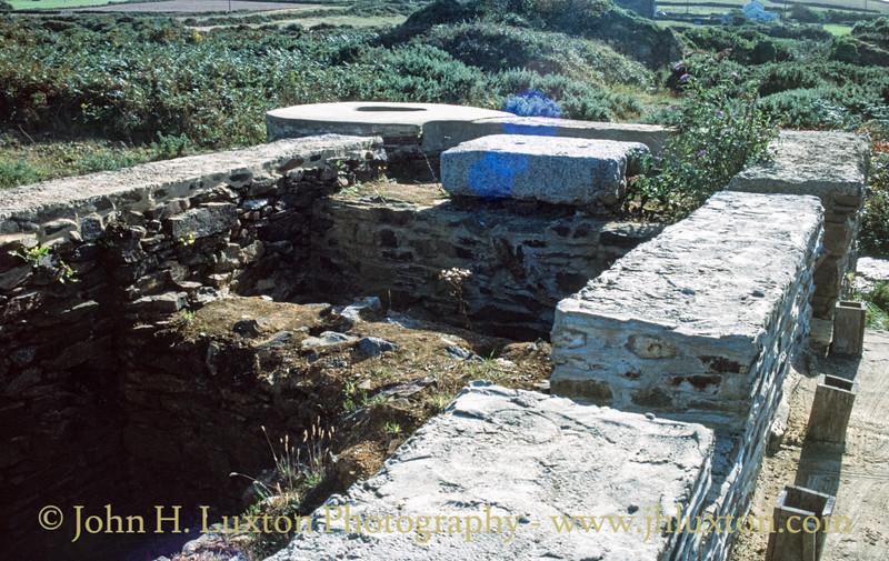 Trevaunance Mine - Royal Polberro Consols, Cornwall - September 01, 1990