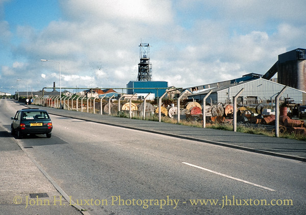 South Crofty Mine, Cornwall - August 30, 1994