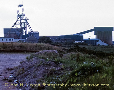 South Crofty Mine, Cornwall - August 16, 1988