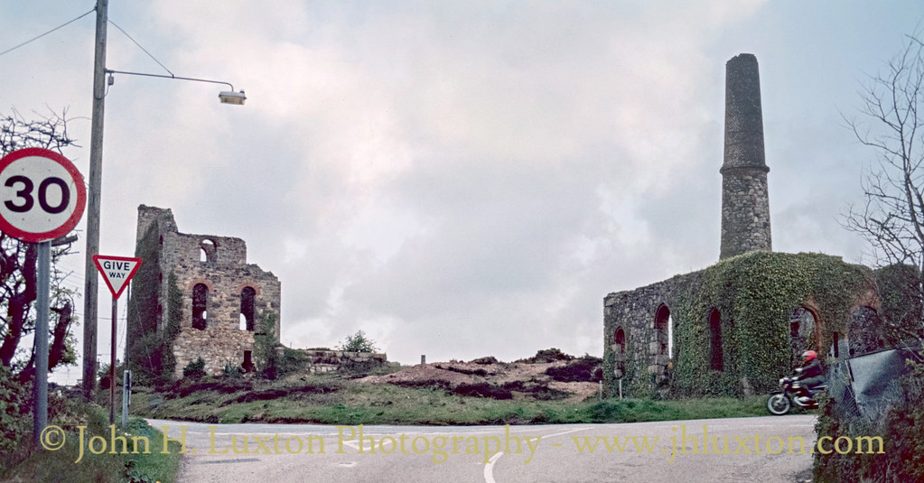 South Tincroft Mine, Cornwall - May 19, 1986