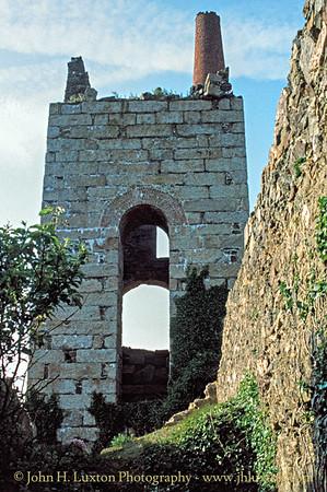 Tywarnehayle Mine, Cornwall - May 31, 1990