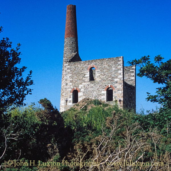 West Chiverton Mine, Cornwall - May 28, 1990