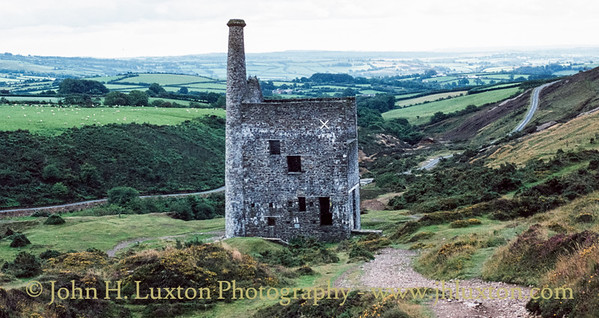 Wheal Betsy Mine, Mary Tavy, Dartmoor, Devon. August  23, 1982