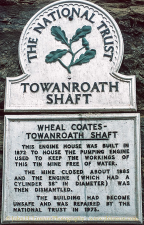 Wheal Coates, Cornwall - September 12, 1981