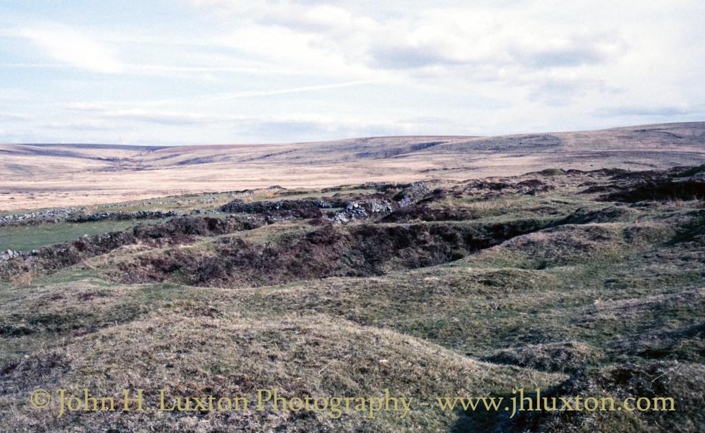 Whiteworks Tin Mine, Dartmoor, Devon - April 12, 1987