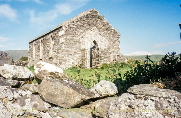 The Cornish Miners'Chapelm, Allihies - May 26, 1998