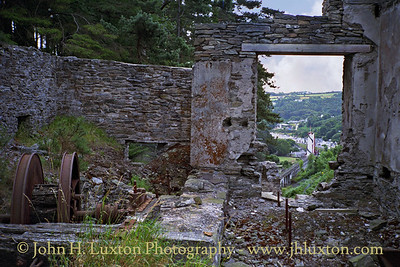 Great Laxey Mine, Laxey, Isle of Man - August 1996