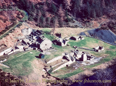 Bryntail Lead Mine, Llanidloes - 1980