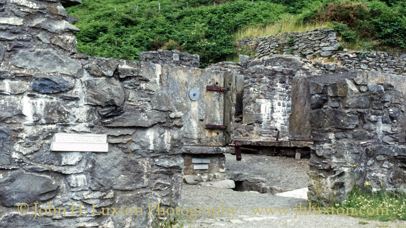 Bryntail Lead Mine, Llanidloes - July 08, 1986