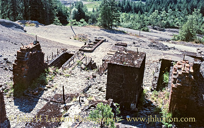 Hafna Lead Mine, Gwydyr Forest - July 01, 1986