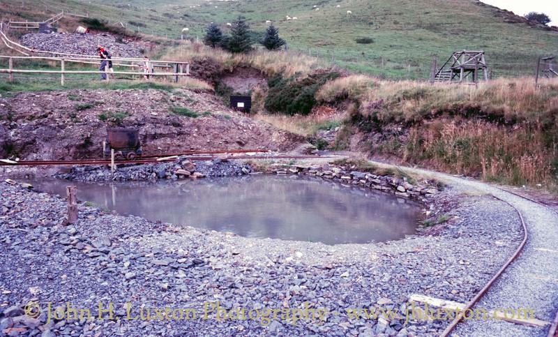 Llywernog Silver Lead Mine - Ponterwyd - August 28, 1985