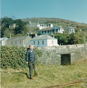 Exploring the remains of the Pentewan Railway - 1969