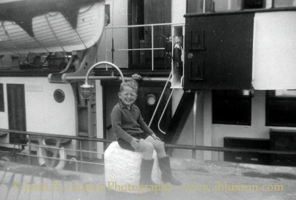 RMV SCILLONIAN II at Hugh Town Harbour 1965