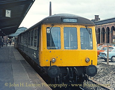 British Railways London Midland Diesel Traction 1977
