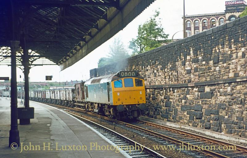 British Railways London Midland Diesel Traction 1977