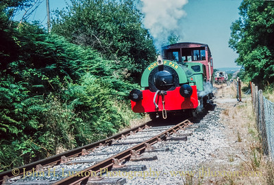 Bugle Steam Railway, Cornwall - August 16, 1983