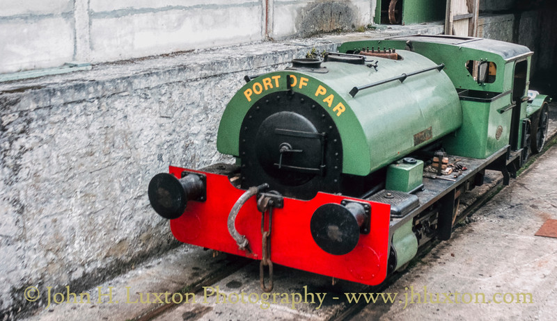 Bugle Steam Railway, Cornwall - August 22, 1984
