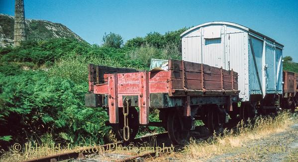 Bugle Steam Railway, Cornwall - August 16, 1983