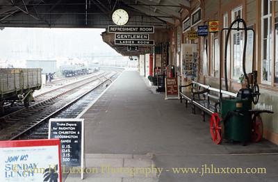 Dart Valley Railway - Torbay and Dartmouth Railway - October 23, 1991